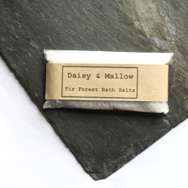 Fir Forest Bath Salts -travel/sample size - Daisy & Mallow
