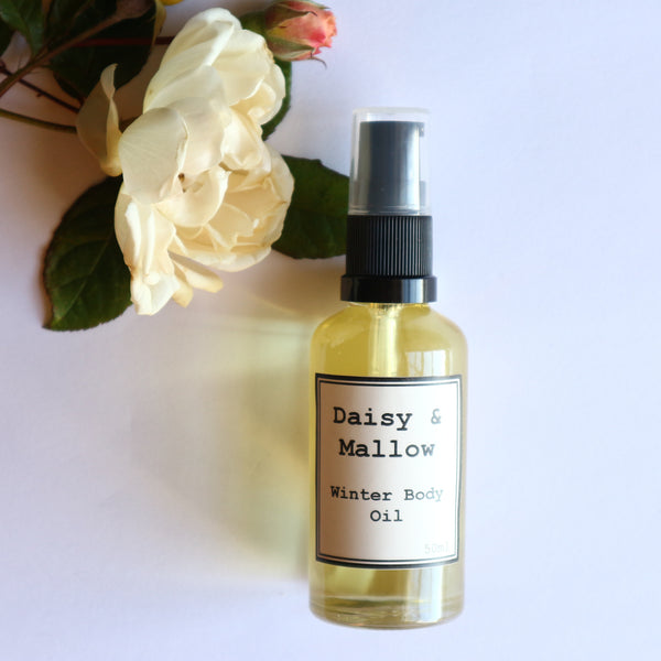 Nourishing Winter Body Oil - Daisy & Mallow