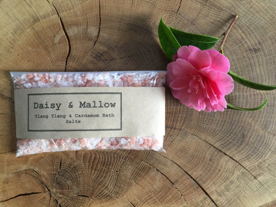 Ylang Ylang & Cardamom Bathing Salts - Sample/Travel Size - Daisy & Mallow