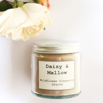 Wildflower Facial Cleansing Grains - Daisy & Mallow