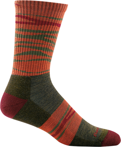 Switchback Micro Crew Light Cushion Men and Women sock