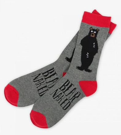 Bear Naked Men's Sock