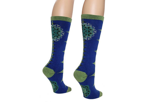 FLOWER OF BLUE Men & Women Socks