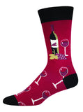 WINE SCENE Men's sock