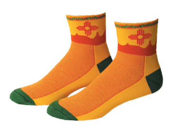 New Mexico 1/4 Men and Women sock