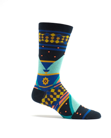 Seljuk Triangles Men's sock