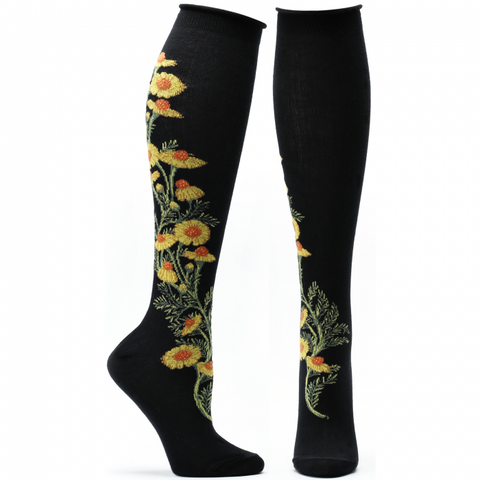 CHAMOMILE APOTHECARY FLORALS Women Knee High Sock