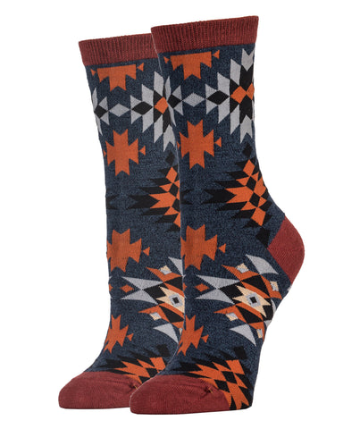 Spicy Hibiscus Women sock