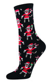SANTA MONKEY Women sock