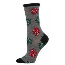 CHRISTMAS BOWS Women sock