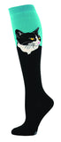 Cat Portrait Women Knee High Sock