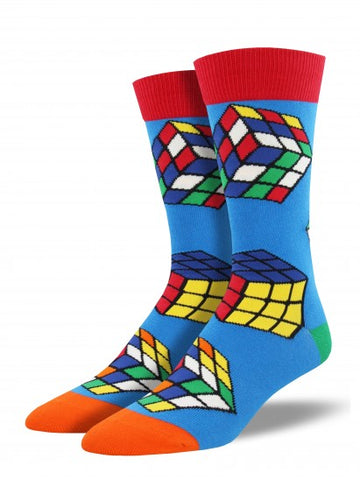 RUBIKS CUBE Men's sock
