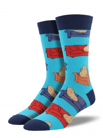 COUCH POTATO Men's sock