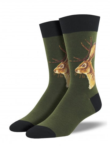 Jackalope Men's sock