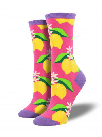 When Life Gives You Lemons Women sock