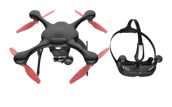 GHOSTDRONE 2.0 - VR - Black/Orange Color