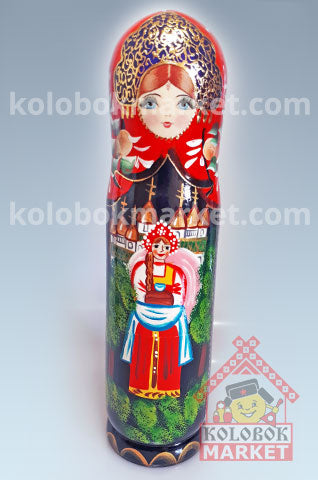 Matrioshka Portabotella de 0.5 LT.