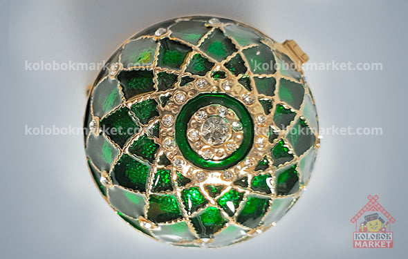 Huevo Faberge Red verde, copia