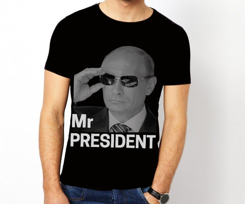 Playera Mr President Putin