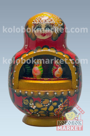 Matrioshka Musical 1 pza 17 cm