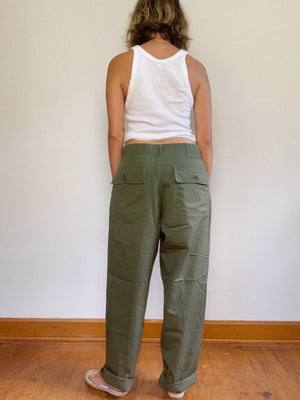 "ARMY PANT 7 / 33"" x 28"""