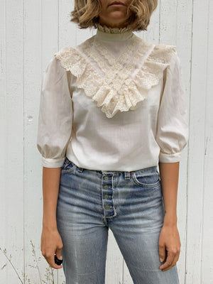 PICTURE ME BLOUSE / EXTRA SMALL