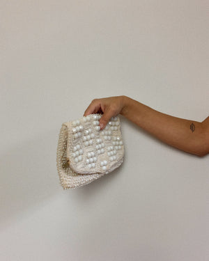 MR. JONAS BEADED CLUTCH