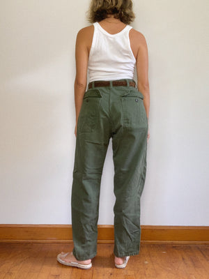 "ARMY PANT 2 / 30"" x 27"""