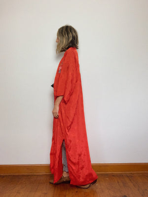 POPPY LONG ROBE / OPEN SIZE