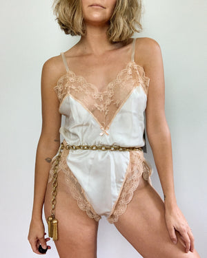 LIS LEVEQUE TEDDY ROMPER / MEDIUM