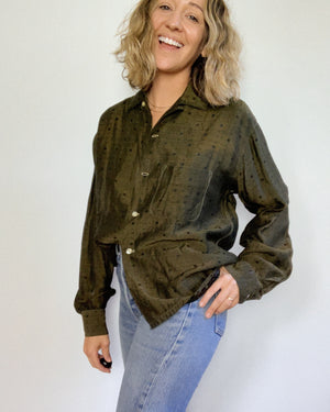 MOSS BLOUSE / MEDIUM