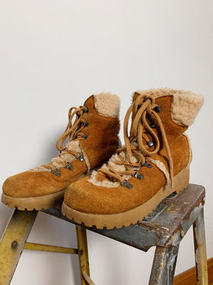 SUEDE AND SHEEPSKIN BOOT / 6