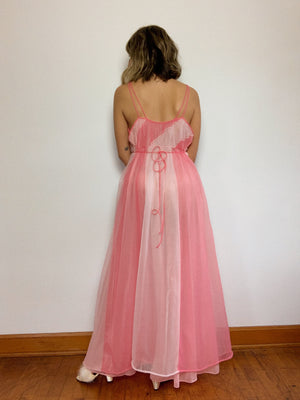 VERY PINK NIGHT GOWN / MEDIUM