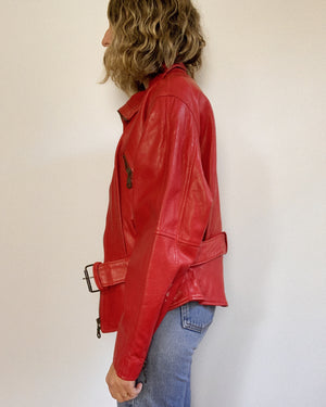 ROMY LEATHER JACKET / SMALL