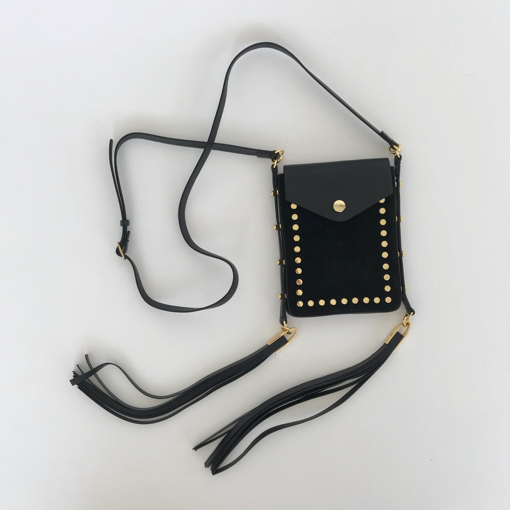 TEINSY LEATHER SHOULDER BAG