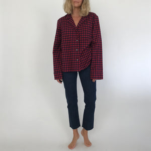 BUFFALO PAJAMA SHIRT / MEDIUM