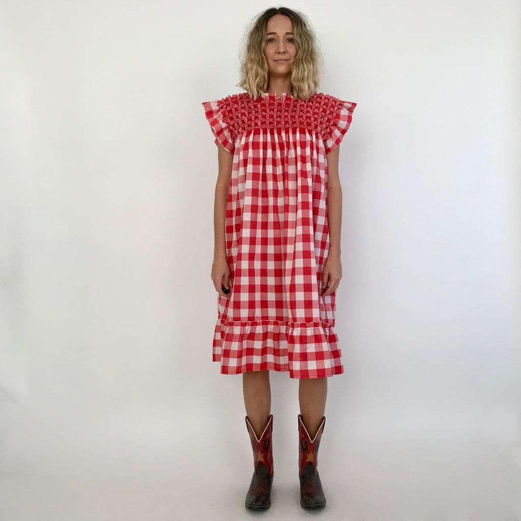 TRUE GRIT DRESS / ONE SIZE