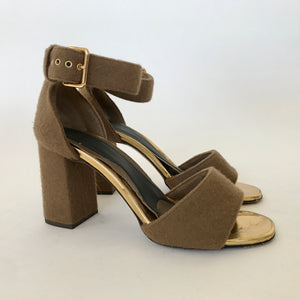 WOOL ANKLE STRAP / 39