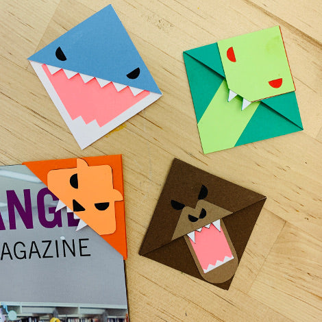 Take and Make Kits: Bookmark Corners