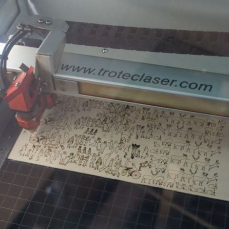 Intro to Laser Cutting (Ages 16+) -- November 2, 2019, 10:00 - 11:00am
