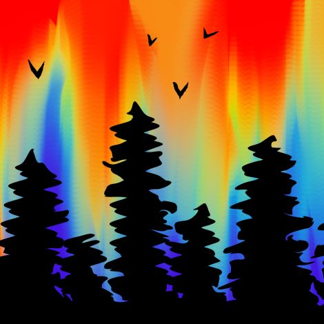 Digital Art Workshop: Rainbow Forest (Ages 13+) -- February 19, 2019, 6:00 - 7:30pm