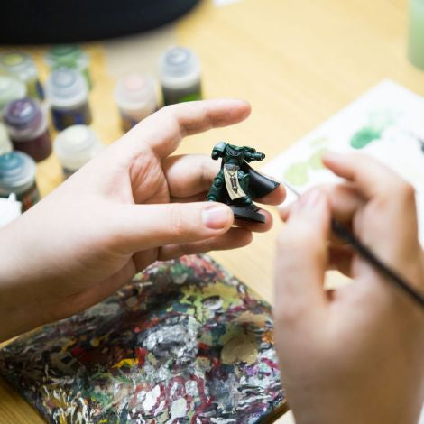 Intro to Painting Miniatures (Ages 13 - 18) -- January 22, 2020, 6:30 - 8:00pm
