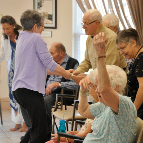 Movement and Dance Workshop for Seniors 65+ -- September 28, 2018, 2:00pm-3:15pm