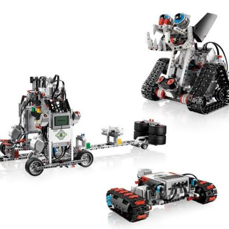 LEGO Mindstorms EV3 with Stemotics (Ages 9-14) -- April 24-May 15, 2019, 6:30-7:30pm