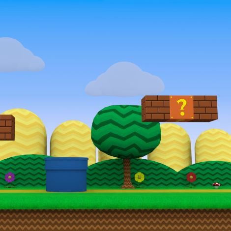 Super Mario Mission (Ages 16+) -- July 18, 2019, 1:00 - 8:00pm
