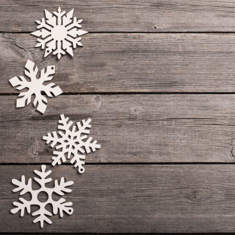 Build Your Own 3D Snowflake (Ages 5-12) -- January 3, 2019, 4:00pm-5:00pm