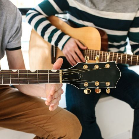 Adult Guitar Group (Ages 18+) -- September 25-November 13, 2018, 8:00pm-9:00pm
