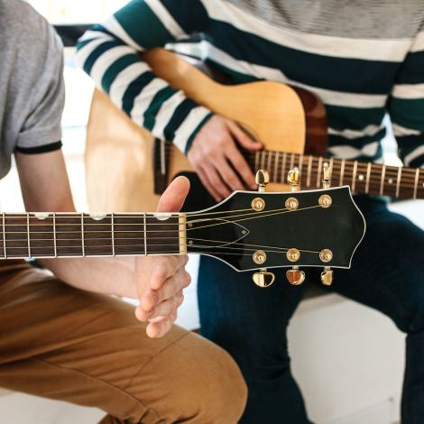Advance Beginner Guitar Lessons (Ages 18+) -- April 2-May 21, 2019, 7:30 - 8:30pm