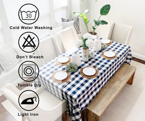 washable tablecloths