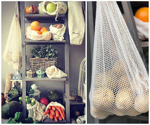 reusable mesh produce bags